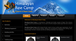 Pixel Design Portfolio, Himalayan Base Camp